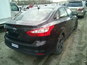 2013 Ford Focus Pass R Side Quarter Mounted Tail Lamp 121k