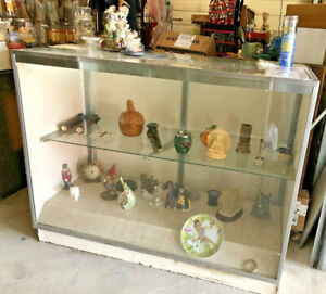 4 Glass Display Case local Pickup Only No Shipping Products Not Included
