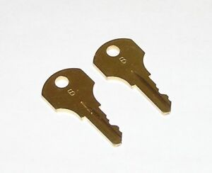 2 Type b Keys Fit Simplex Time Clocks Mechanical Time Stamps