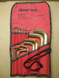 Snap on Snap On Awm140dk 14 Pc Metric Hex Key Allen Wrench Set