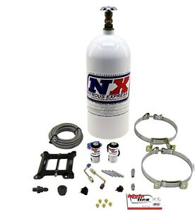 Nitrous Express 10lbs Oxide Injection System Kit Nitrous Express Ml1000