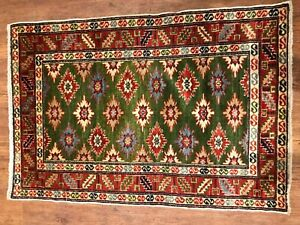 Antique Shirvan Rug Excellent Condition Size 3 Ft 1 In X 2 Ft 1 In
