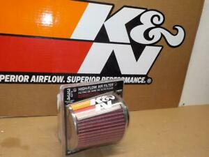 K n Rg 1001rd Extra Flow Clamp on Chrome Air Filter flange 3 0 3 5 4 0