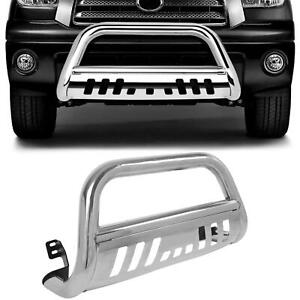 Chrome Bull Bar For 1999 2006 Toyota Tundra Bumper Skid Plate Brush Protector