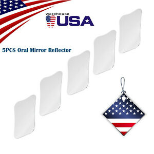 1 5pcs Dental Orthodontic Intra oral Reflector Mirror Steel Reflector Type 10