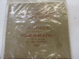 Nos 1958 Ford Fordomatic Transmission Gasket Rubber Seal Kit 223 292 332
