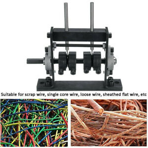 Portable Manual Wire Stripping Machine Scrap Cable Stripper For Copper Recycling