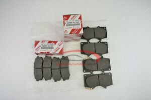 Genuine Toyota 4runner 2003 2020 Front And Rear Brake Pad Sets Oem
