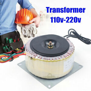 900w Industrial Encapsulated Toroidal Power Transformer Ac110v 220v Small Size