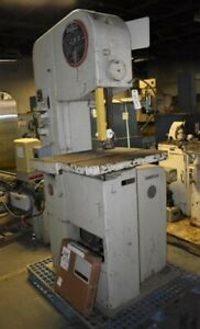 16 X 12 Doall Contour matic 1612 0 Vertical Band Saw 29261