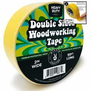 Double Stick Tape For Woodworking 2 Wide Wood Sided Woodworkers 90ft X