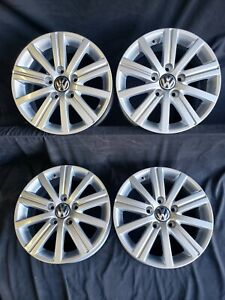 A Set Of 2011 2014 Volkswagen Jetta Wheels 69959 15x6 5 5 112mm