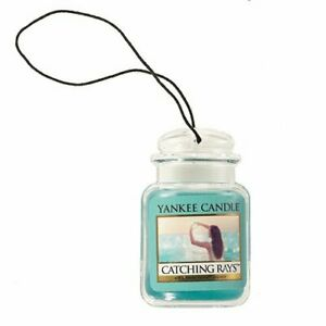 Yankee Candle Catching Rays Car Jar Air Freshener Fresh Scent