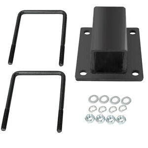 Hitch Receiver Adapter For Rv Bumper Bike Rack Cargo Travel Carrier Mount