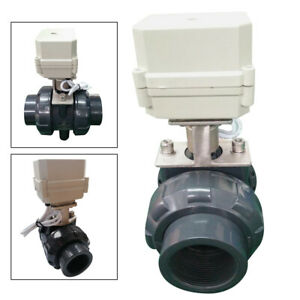 Npt 2 50mm Motorized Ball Valve Stainless Electric Ball Valve 2 Wire Setup Ip67