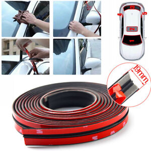 3m 10ft Car Rubber Front Rear Windshield Panel Seal Strip Sealed Moulding Trim