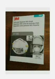 8110s Box 20 Small Size Face Covers Genuine 3m Usa Made 11 2025 New