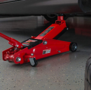 Hydraulic Low Profile Trolley Jack Floor Jack With Extra Saddle 2 5 Ton
