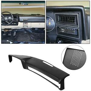 Black Dash Board Cover Replace For 18 601 Blk Fits Gmc Chevrolet Trucks New