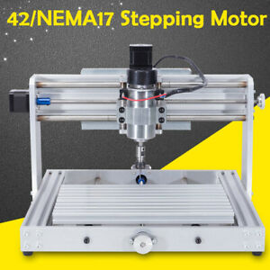 300w 3 Axis Cnc 3018 Engraving Machine Mini Diy Wood Router Air Cooling