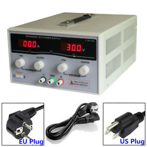 Variable Dc Switch Power Supply 30v 20a 50a Adjustable Dual Digital Display Lab