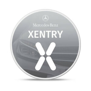 Xentry Mercedes Remote Install January 2021 Latest Diagnostic Mb Star Das C3 C4