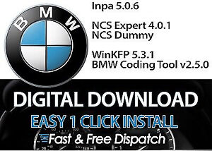 Bmw Inpa 5 0 6 One Click Install Ncs Expert Bmw Coding Tool 32 Winfkp Software