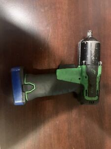Snap On 14 4v 3 8 Impact Gun Green Microlithium Cordless Ct761a W One Battery