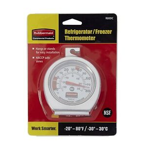 Rubbermaid Commercial Refrigerator freezer Monitoring Thermometer