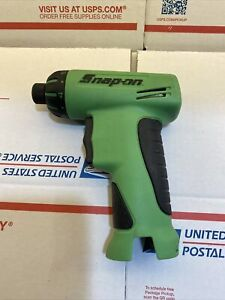 Snap On Cts561cl Green 7 2v Cordless Screwdriver With Clutch Awesome