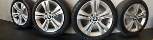Oem Bmw 17 Inch Wheel Tires Light Grey For 3 Series F30 And Other Models