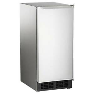 Scotsman Dce33pa 1ssd 15 w Top Hat Undercounter Ice Maker 30 Lbs day