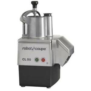 Robot Coupe Cl50 1 Speed Cutter Mixer Food Processor W Side Discharge 120v