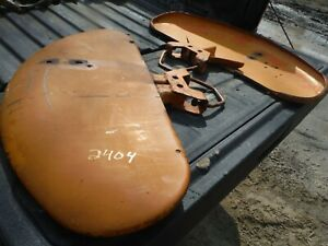 Pair Ih Farmall 2404 Lo Boy Tractor Fenders Good Shape Hard To Find 35