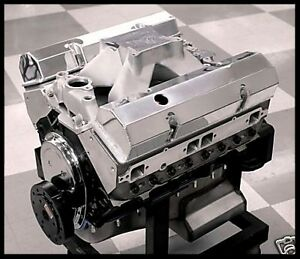 Sbc Chevy 434 Stage 5 5 Dart Block Afr Heads Crate Motor 632 Hp Base Engine