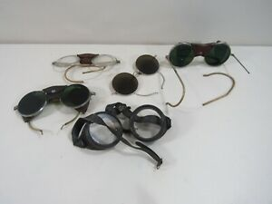 Lot Of 5 Welding Glasses Specticles Spectacles As Is