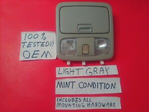 oem 02 06 Toyota Camry 03 05 4runner Overhead Console Sunroof Dome Light Gray
