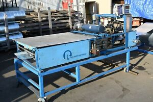 Roll Former Corp Ssxt8 Roof Panel Machine 115v 230v 1ph Standing Seam Profile