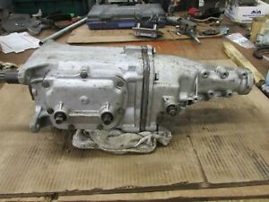 1967 1968 Gm Muncie M21 Close Ratio 4 Speed Transmission 3885010 P7m29 No Vin