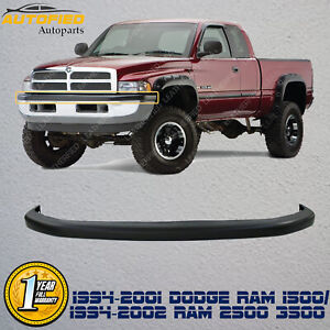Front Bumper Upper Cover Textured For 1994 2001 Dodge Ram 1500 94 02 2500 3500