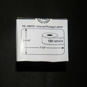 Dymo 99019 Direct Thermal Postage Labels 1 Roll Of 150 Nip