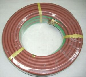 Twin Welding Hose 1 4 X 50 Grade T For Oxygen Propane Or Lp Gas Torch Cutting