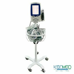 Welch Allyn Spot Vital Signs Lxi Patient Monitor Ref 45neo Stand Accessories