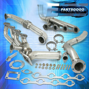 For 79 95 Ford Mustang 5 0 Gt 302 V8 Performance Steel Exhaust T4 Turbo Manifold