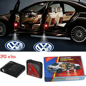 For Volkswagen Vw Door Projector Lights Led Logo Welcome Light Courtesy Shadow