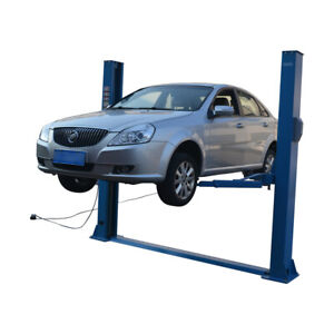 8 800lb Two Post Overhead Auto Hoist Floor Car Lift With Combo Arms 110v