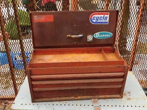 Vintage Snap On Tool Chest Box Cabinet Kra 53 Rat Rod 24 X 11 X 11 Orlando