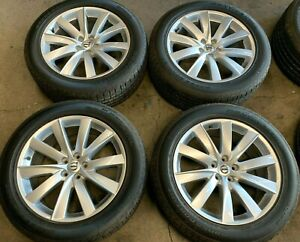 2016 2019 Volvo Xc90 Factory 19 Wheels Tires Oem 70406 Rims 31362276 Dot 2015