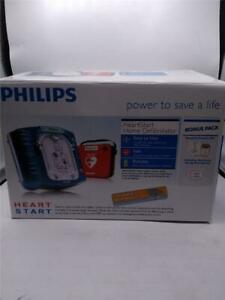 Philips Heartstart Home Aed Defibrillator With Carry Case Bonus Pack M5068a