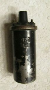 Vintage Oem Delco Remy 425 B R Embossed Ignition Coil 12 V Original Condition